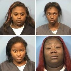 Women Allegedly Stole 180 Items