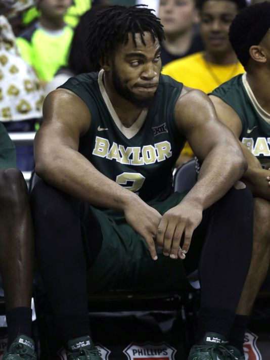 Baylor's Rico Gathers Charged with Shoplifting