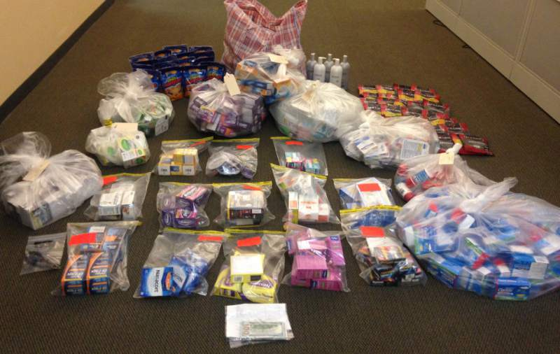 Organized crime ring busted with $9500 in merchandise