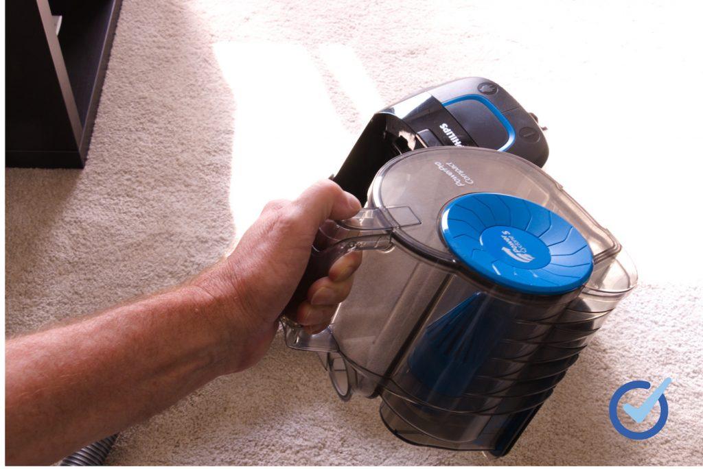 Staubbehälter des PowerPro