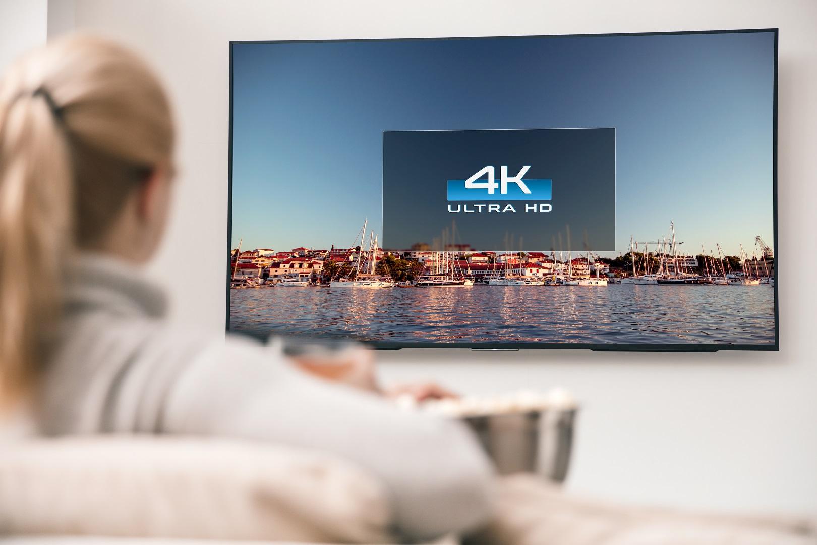 4K UHD liefert spitzen Bilder und ist preislich erschwinglich.