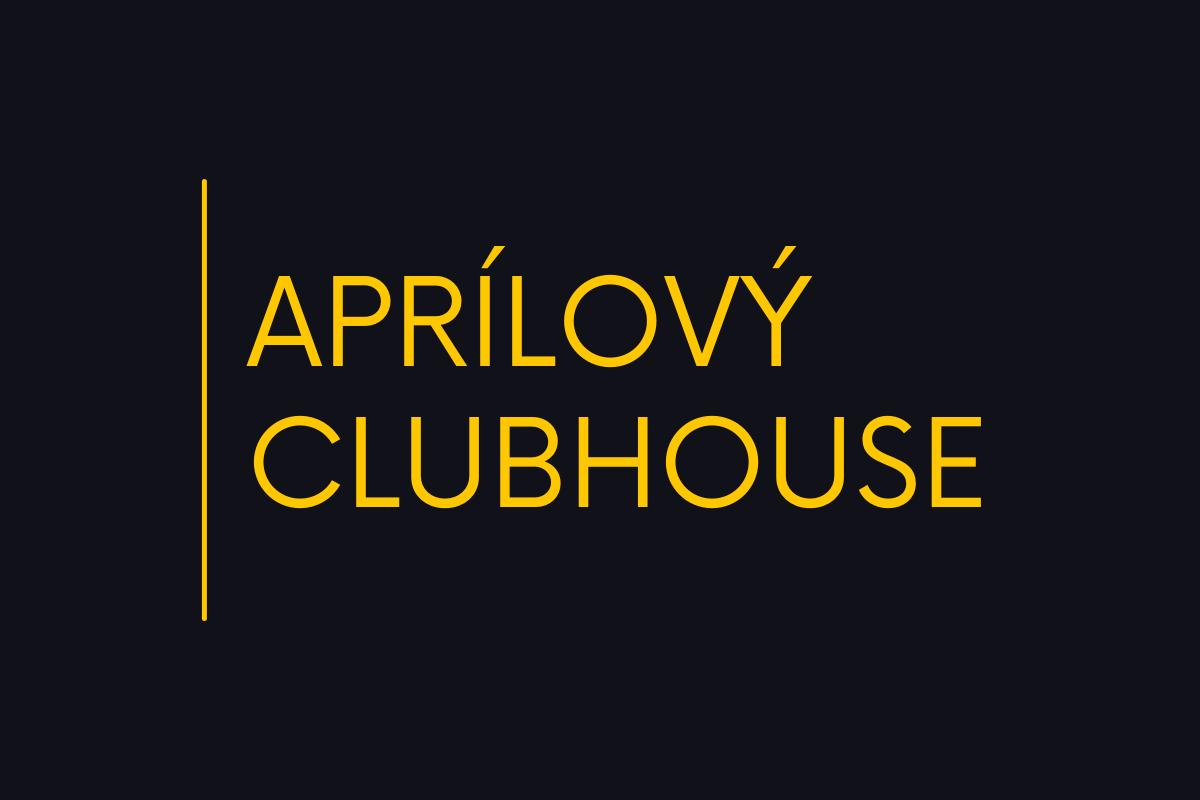 Aprílový ClubHouse s Martinem Stránským