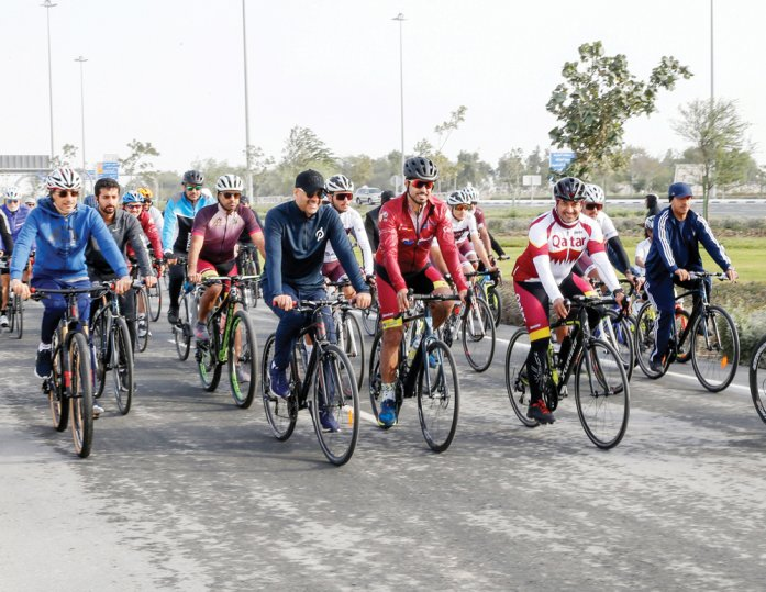 33km-long Olympic Cycling Track opens on Al Khor Road