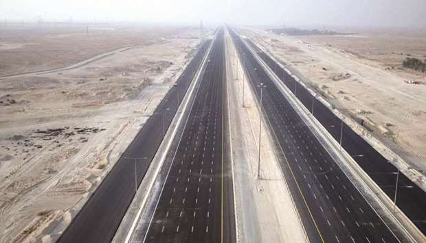56km of roads linking Hamad Port with other areas opened