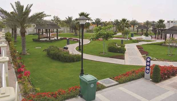 Al Shamal Park restricted to women and children