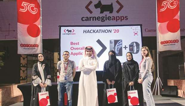 All-female Qatari team's app wins top award at CMU-Q Hackathon competition