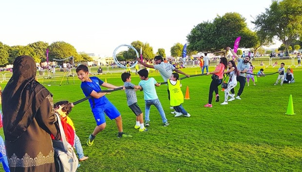 Aspire Park community activities a big draw
