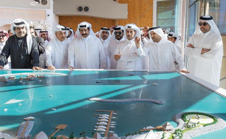 Prime Minister Yesterday Opened Banana Island Resort Doha