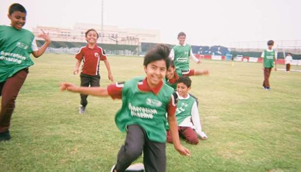 Captured - Qatars passion for football, uncut, unedited