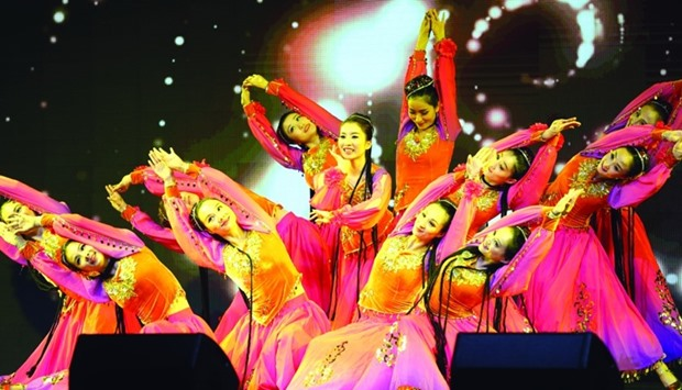 Chinese Festival opens with a series of traditional shows