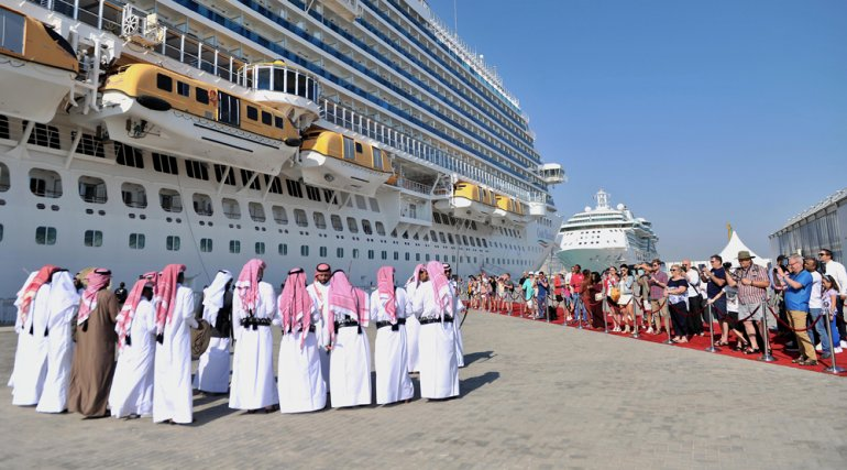 Doha welcomes first US mega cruise ship