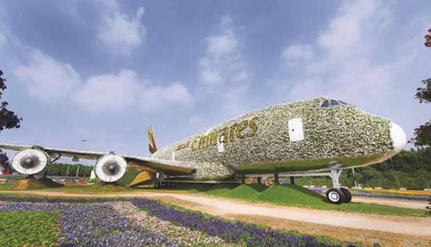 Dubai Miracle Garden to have floral installation of Emirates A380