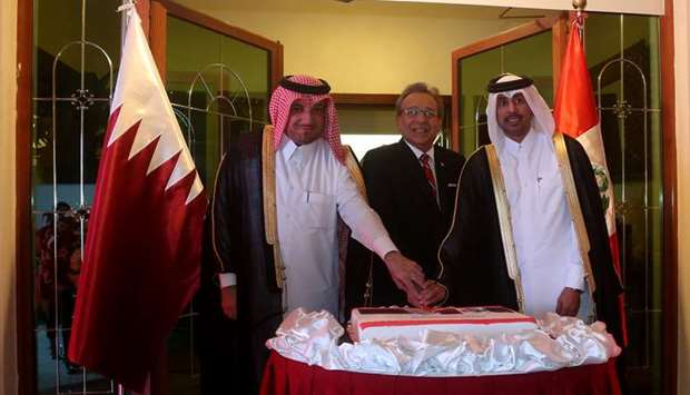 Embassy celebrates 30 years of Peru-Qatar ties