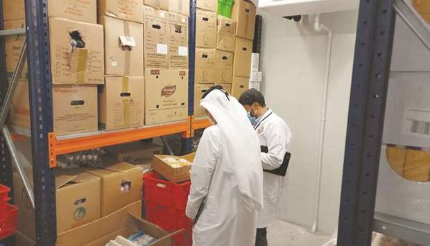 Health Control Department carries out inspection rounds
