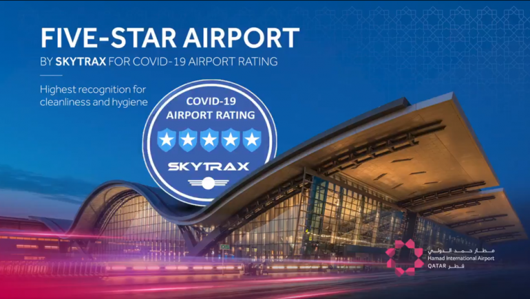 HIA first airport in region to be awarded 5-star Covid-19 airport rating by Skytrax
