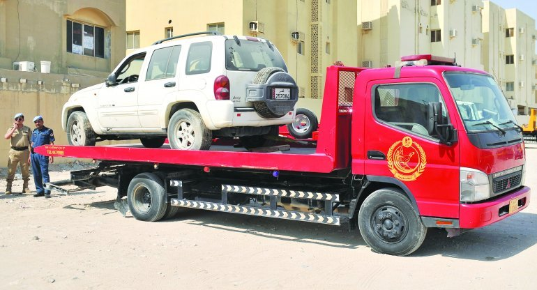 Impounded vehicles on auction from Sunday