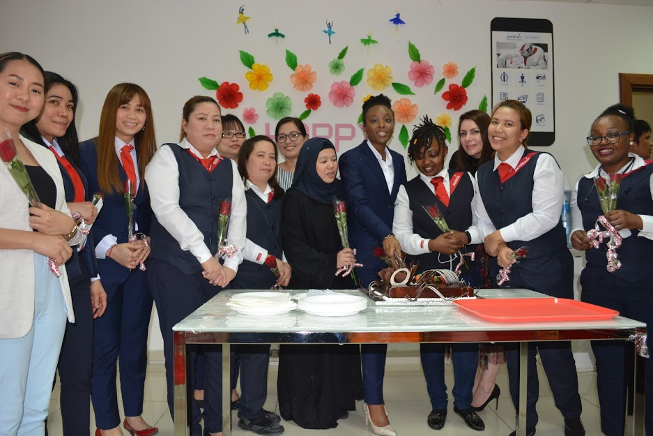 International Women's day celebration in Teyseer Services Company