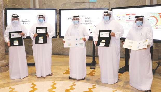 Katara and Qatar Post launch postage stamps