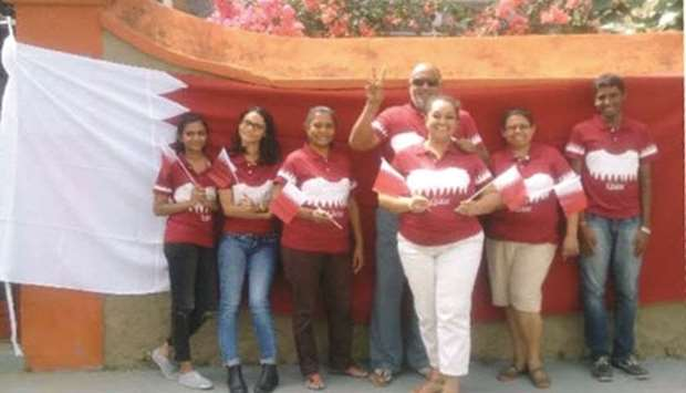 Mauritian group stands by Qatar