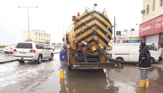 MME swings into action to drain out rainwater in parts of city