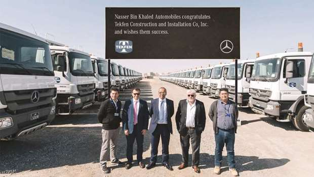 NBK signs deal to supply 50 Actros trucks