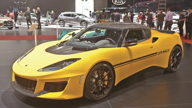 New Lotus Evora 410 to be unveiled at motor show