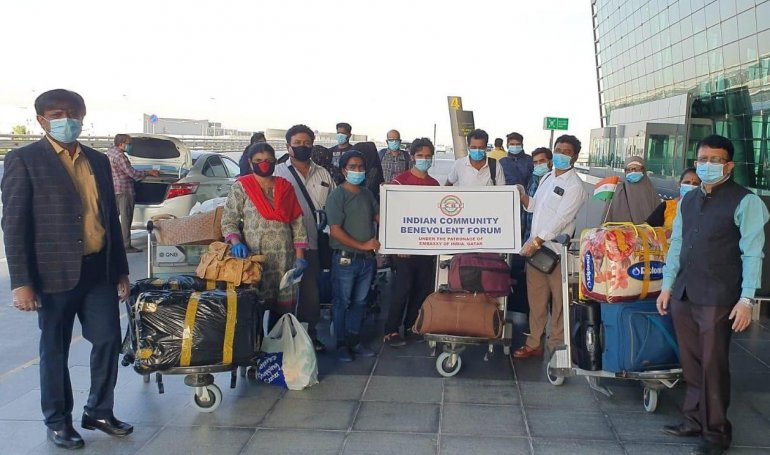 Over 10,000 Indians repatriated from Qatar in 61 flights including two community-hired charters
