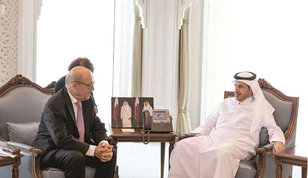 PM meets French foreign minister