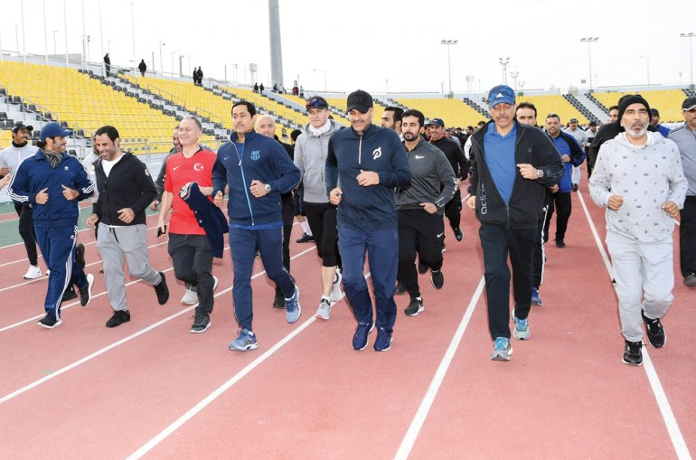 PM participates in Sport Day activities