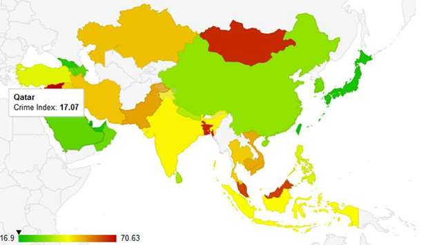 Among the safest countries in the world qatar among the safest countries in the world gumiabroncs Images