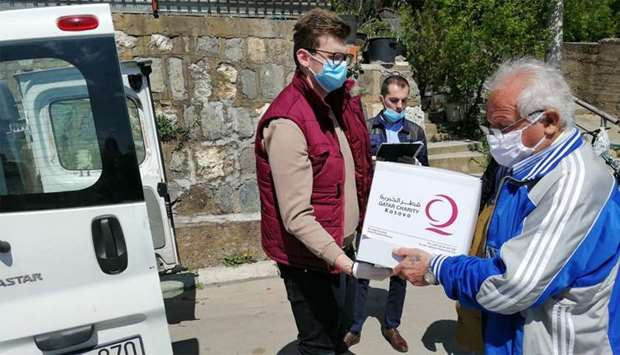 Qatar Charity supports Kosovoق€™s Ministry of Health in fight against Covid-19