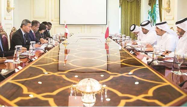 Qatar, Singapore to keep increased level of relations