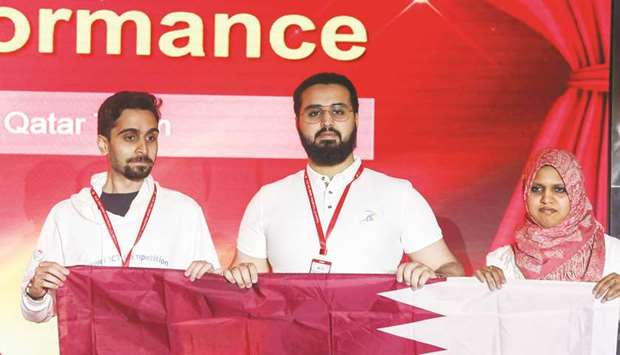 Qatar team honoured at final of Huawei Middle East ICT Competition