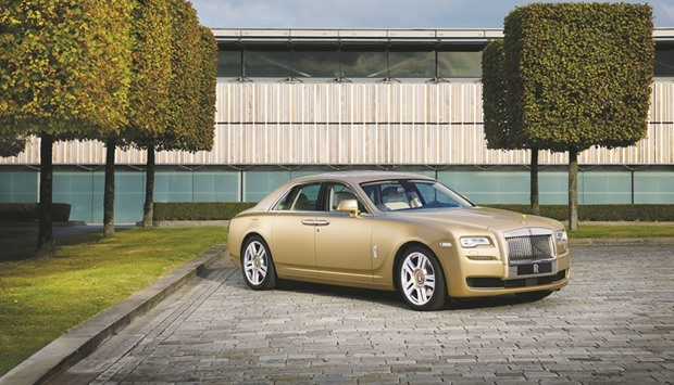 Rolls-Royce Ghost Oasis Edition available in Qatar