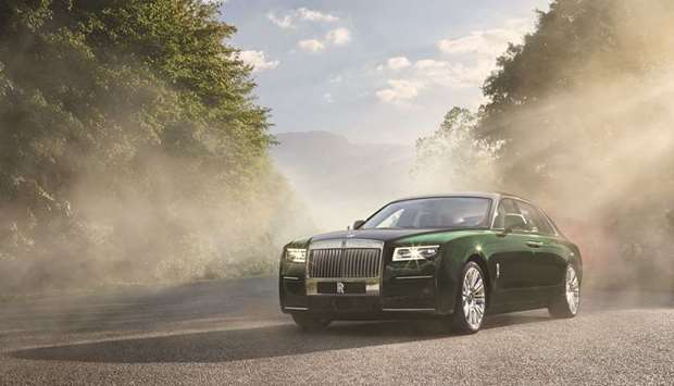 Rolls-Royce Motor Cars unveils new Ghost Extended