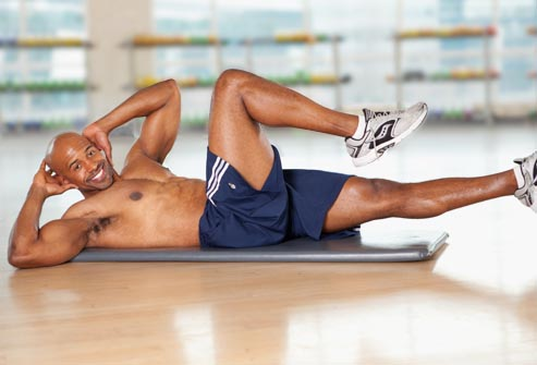 The Best Flat Abs Moves for Men - Foods & Workouts