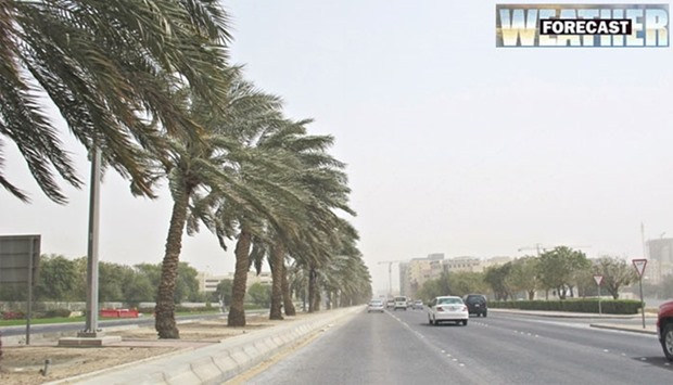 Strong winds, poor visibility expected in many parts