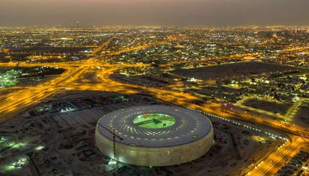 Thumama stadium, a magnificent view