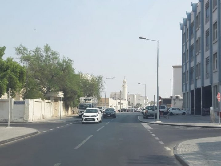 Upgrading works on Tihama Street and Al-Mansour Street in Old Airport Area completed