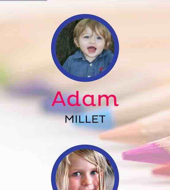 Vue de la liste des enfants dans le portail famille sur un mobile
