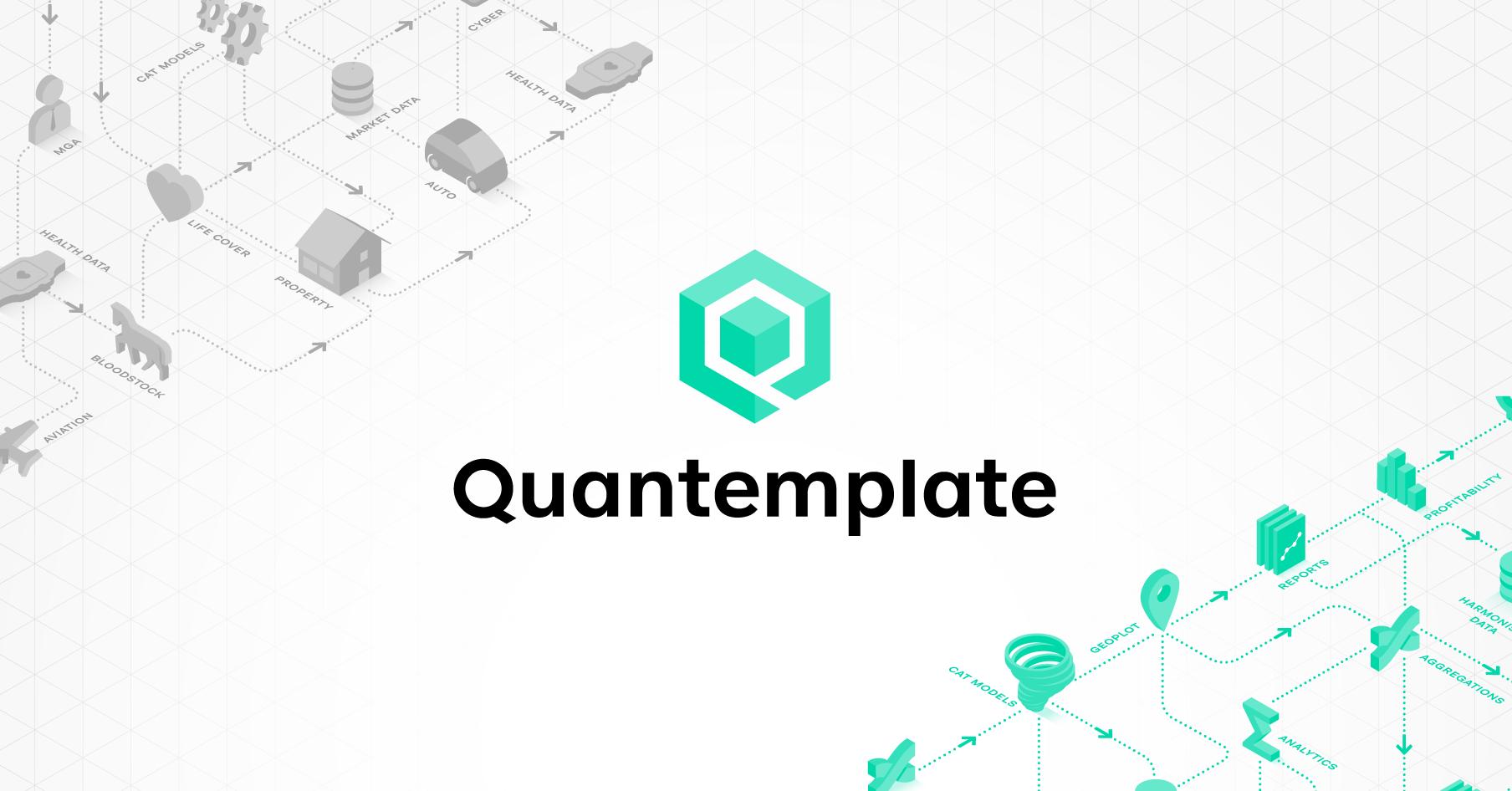 Quantemplate insurance data integration and analytics maxwellsz