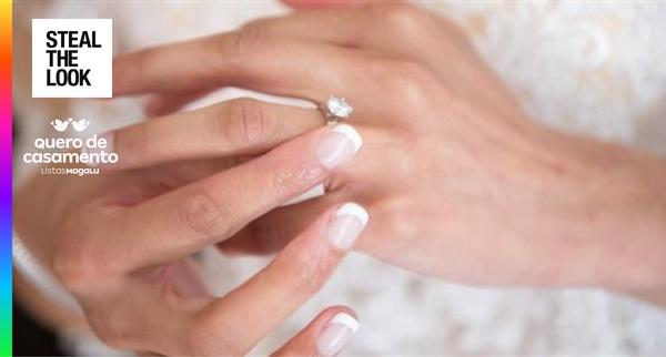 10 inspirações de unhas de noiva