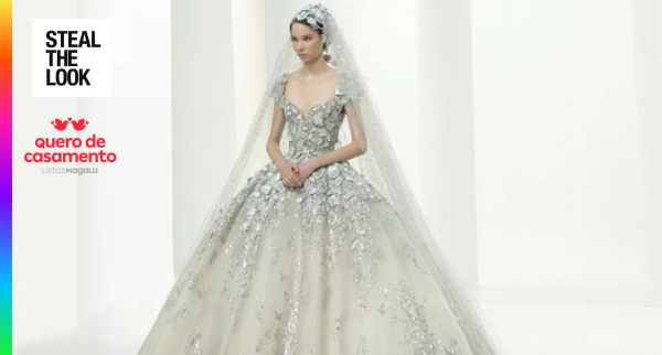 Os vestidos de noiva da Alta Costura para você se inspirar
