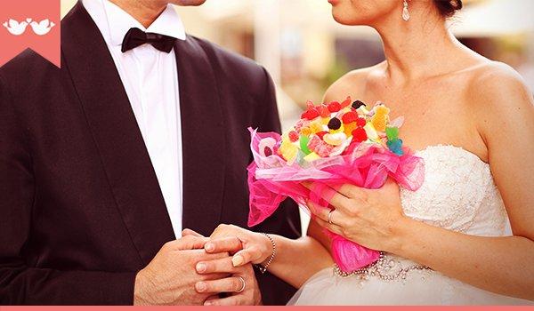 Como inovar no buquê de casamento