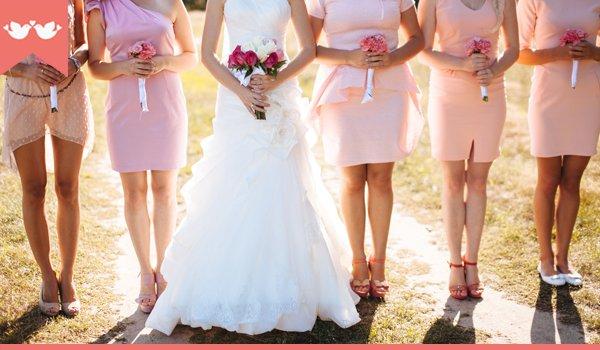 como escolher a cor do vestido da madrinha