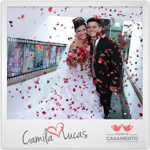 Nossos casamentos Camila e Lucas