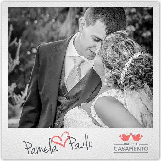 Nossos casamentos Pâmela e Paulo