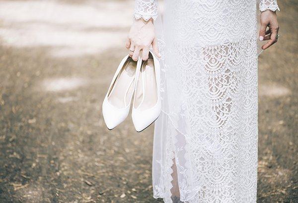 Dicas para escolher o sapato de noiva perfeito!