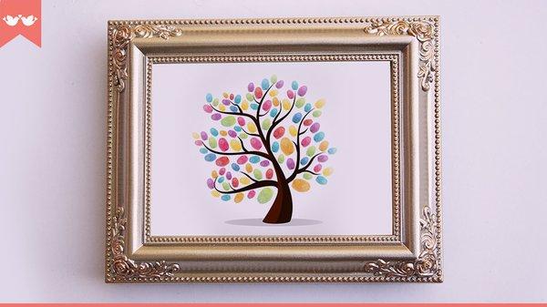 Faça você mesmo - árvore de digitais