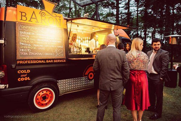 Food Truck no casamento?